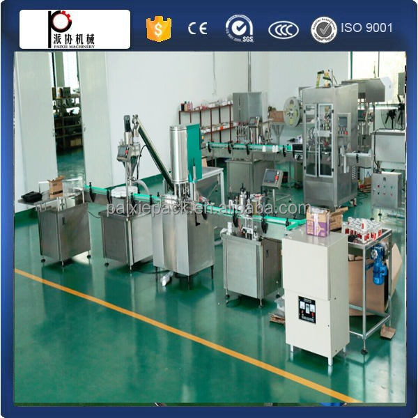 Shanghai supplier automatic coffee powder filler capper machine powder filling machine dry chemical powder in factory price
