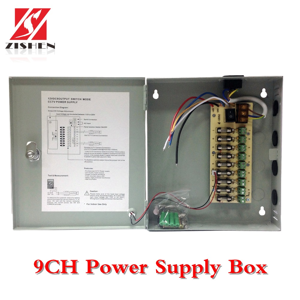 China Camera Power Supply Box Wiring Diagram Manufacturers And Suppliers On
