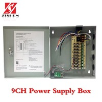 9CH Power Supply Box For CCTV Camera/LED Centralized power supply