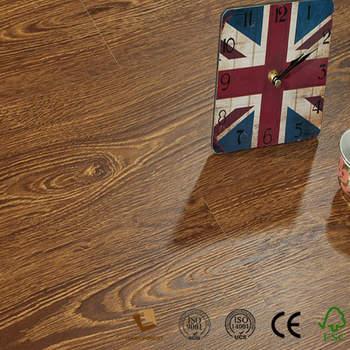 Cheap Price New Medium Embossed Zebrano Laminate Flooring For