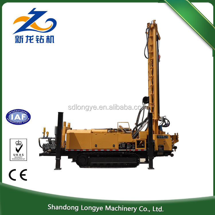 Dubai wholesale market 700m Hole depth truck mounted bore well drilling machine price