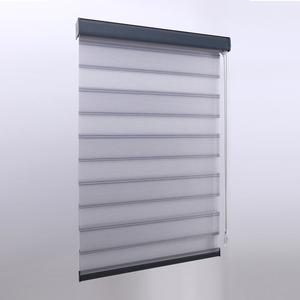 "Approved manufacture 3"" light filtering fabric day night office zebra blinds"