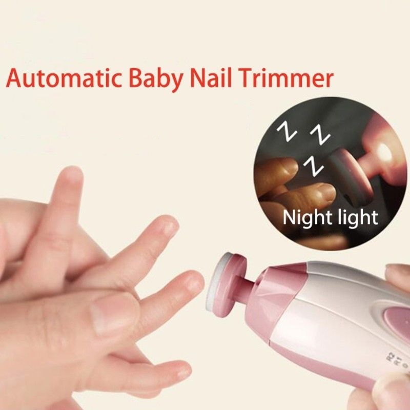 Portable Nail Care Tool Baby Adult Multi-function Electric Manicure Set Baby Nail Trimmer