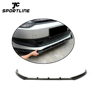 R Style Car Carbon Front Bumper Lip Spoiler for VW POLO 6 2011