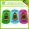 Logo Printed Plastic Rubber Pet Tag