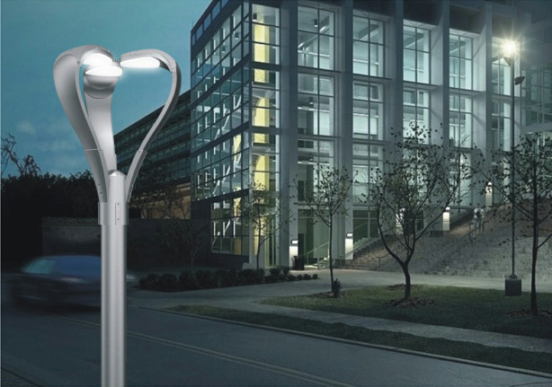 Modern Outdoor Stainless LED Garden Lamp Posts