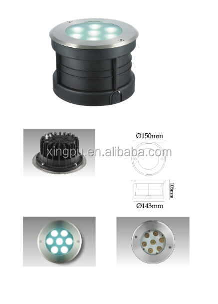 High quality 7W Led underground light, led inground light , Led 7W waterproof IP67
