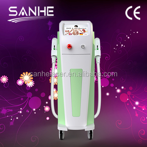 2015 new arrival vertical Latest Technology Type and Hair removal Type SHR IPL Machine