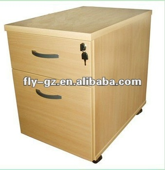 2012 Best Sale Wooden Office 3 Drawers File Cabinet