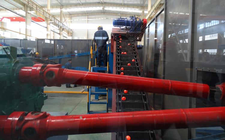 IGBT long bar induction heat treatment machine for forging