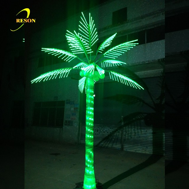 Outdoor Holiday Decoration Lighting Led Coconut Palm Tree Light