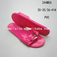 High Quality Jelly Pvc Shoes Women Jelly Slippers