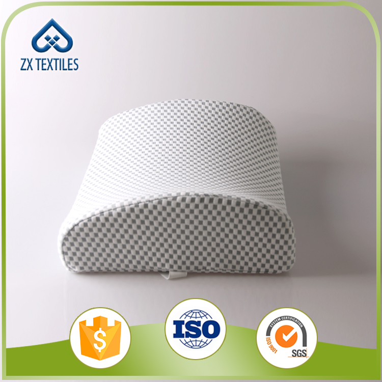 High Resilient Memory Foam Ventilative Mesh Lumbar Support Back Support Cushion