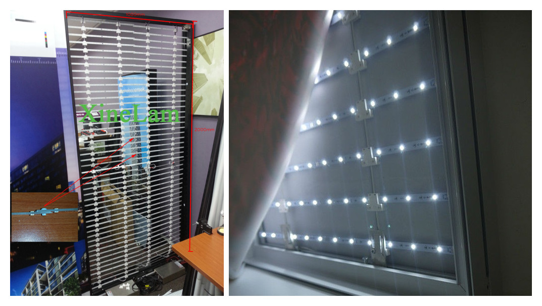 Adjustable Dual Cct Vertical Led Flexible Bar Strip Backlight ...