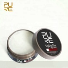 Hair Edge Control Private Label/Hair Styling Wax Strong Hold Hair Pomade Clay Matte