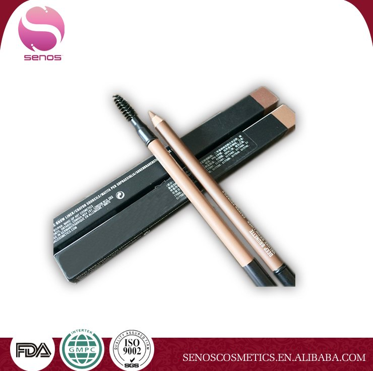 double-end makeup eyebrow pencil long lasting waterproof eye brow pen