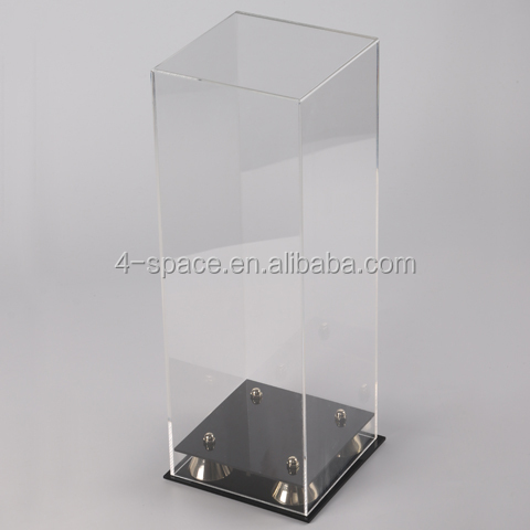 Acrylic display box Plexiglass Wine And Champagne Display Case