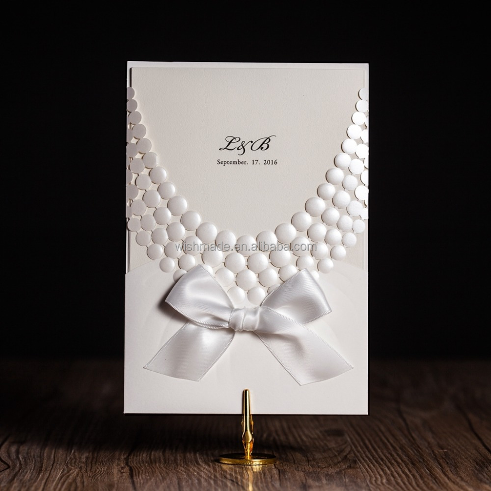 2017 Unique Design Wedding Invitation Card Cheap Price Cw5188 – Unique Invitation Card
