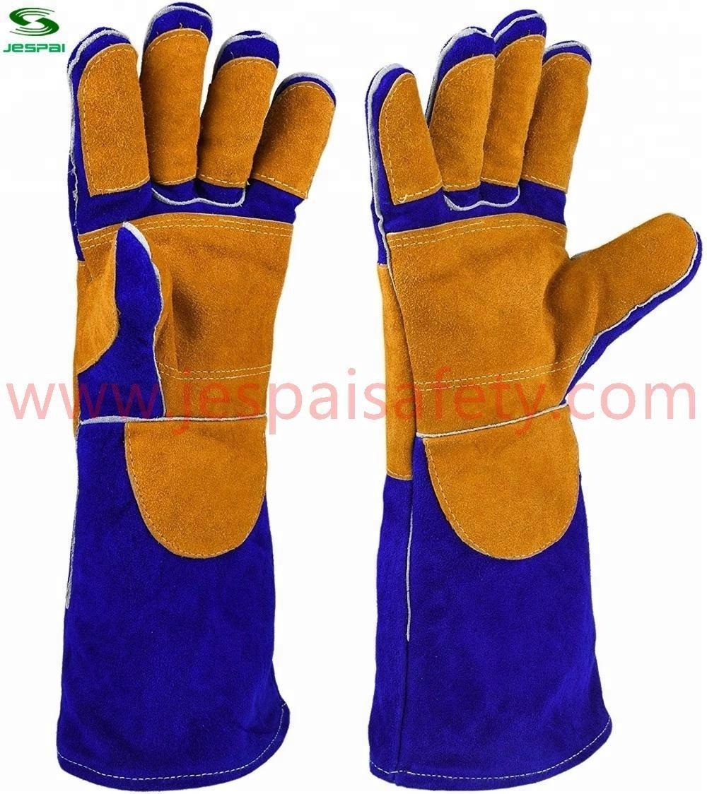 """Jespai Factory 16"""" heavy duty welding gloves"""
