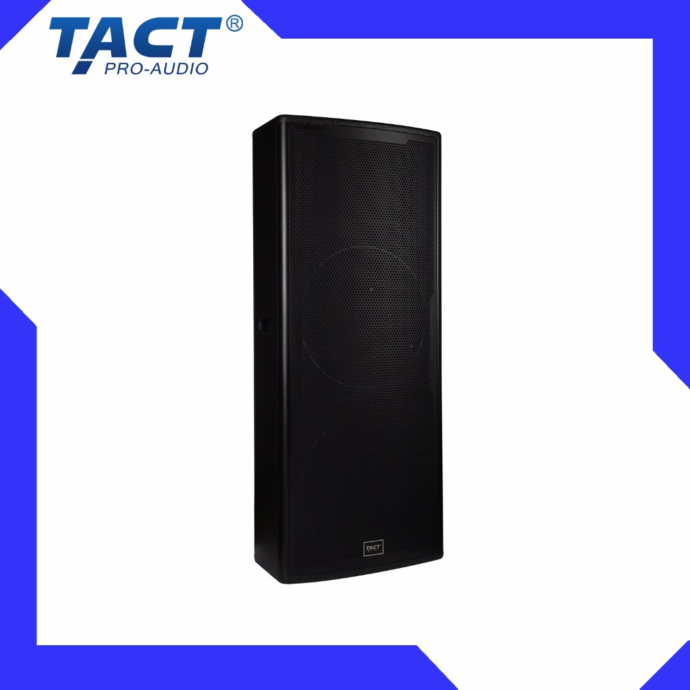Dual 15 inch professional dj big cheap active pa speakers for sale line array concert stage speakers