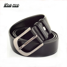 Professional customized pu genuine leather belts for mens