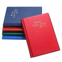 240 Professional Coin Collection Book Collection Album for 240 Pcs Coins Portable