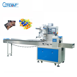 Automatic Round Hard Candy Wrapping Machine