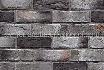 Grey Brick Wall Panel Decoration Indoor Outdoor Cladding Wall Brick Decor