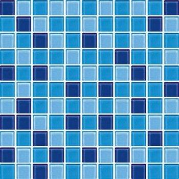 Mm Billig Schwimmbad Mosaik Blaukristallglasmosaik Buy - Glasmosaik fliesen blau