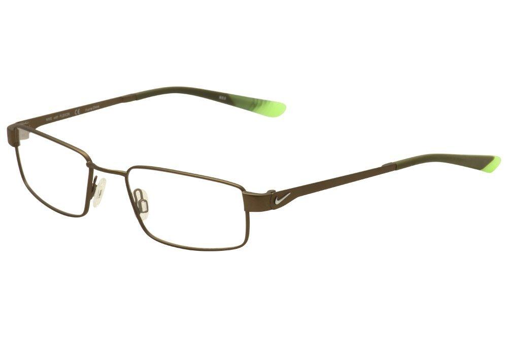 c1bb2ae383 Buy Nike NIKE 4270 Eyeglasses 245 Satin Walnut-Green Strike in Cheap ...