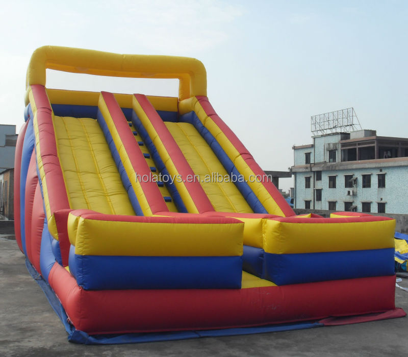 Yellow new inflatable water slide/swimming pool slide