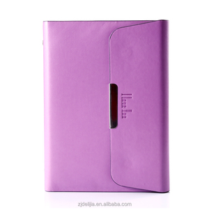 loose-leaf notebook with magnetic closure, notebook with replaceable pages, high quality business notebook