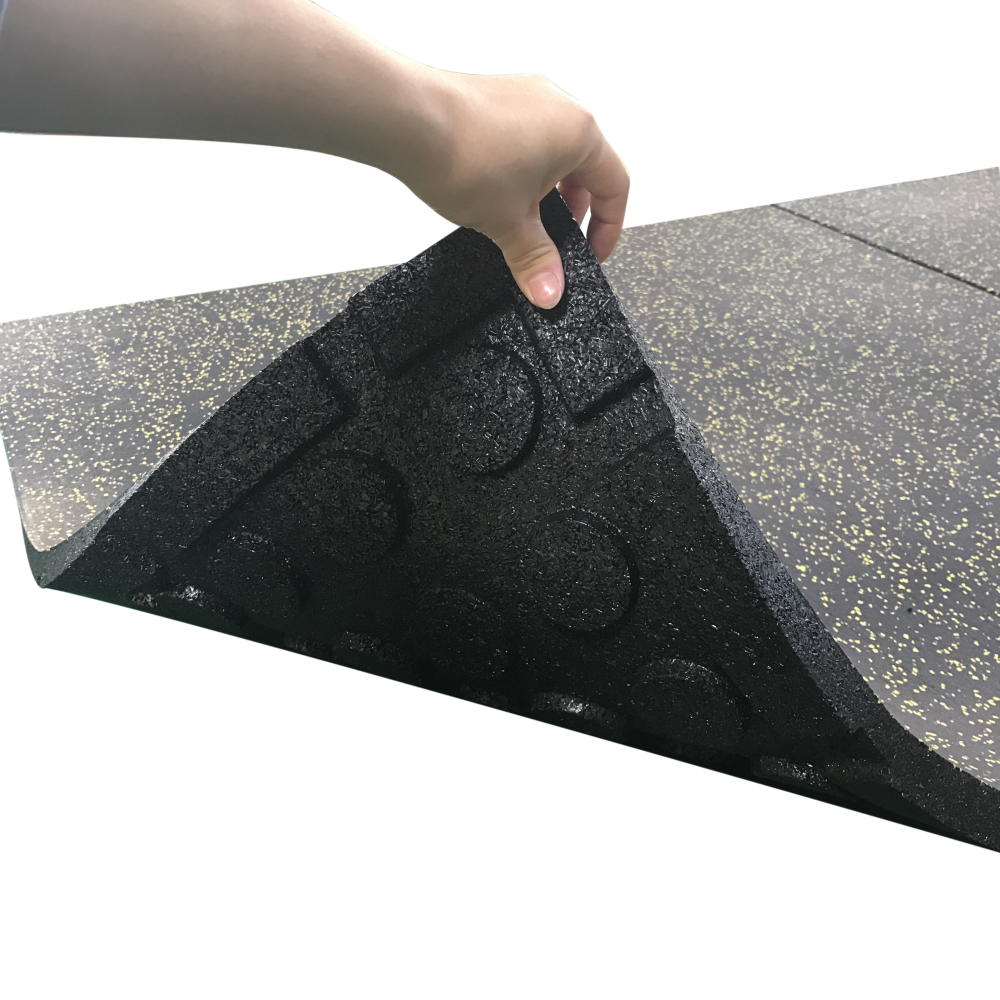 Gym Floor Rubber Mat 20mm Or 50mm Thick