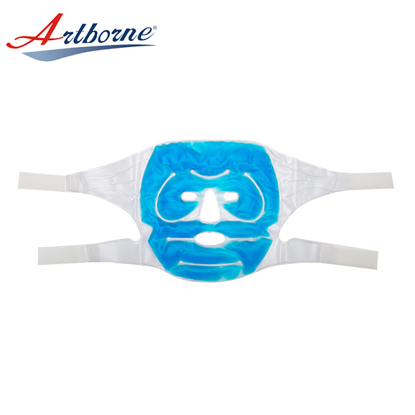 High quality anti wrinkle comfortable mask face microwave hot cold magic gel heat pad