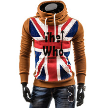 2015 New Design Fashion Mens Hoodies, Male Causal Sportswear, Man Outdoor Sports  Outerwear Tracksuit Sweatshirt, Plus Size 4XL