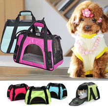 Portable Travel Booster Soft Cage for Dogs Cats Small Puppies Handbag Shoulder pet carrier bag