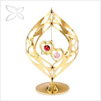 Latest Gold Plated Crystals Love Wedding Door Gift Buy Love