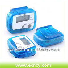 portable electronic pedometer calorie counter meter