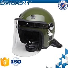 Anti riot helmet for police with fog resistance mask