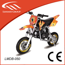 50cc 4 stroke air cooled dirt bike with CE by pull starter for sale