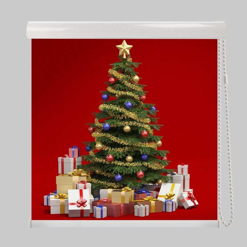 Christmas decorations roller blinds made in china buy for Where can i find christmas decorations