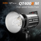 Godox QT400IIM 110V High Speed Sync Flash Light 1/8000s Built-in 2.4G Godox Wireless X System Recycle Time