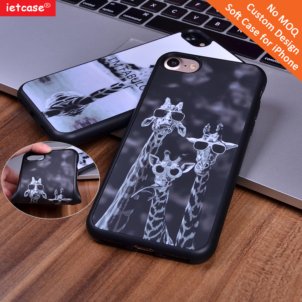 Shenzhen Wholesale fashion TPU soft skin cell phone case customized fashionable for Apple iPhone6/6s/6plus/7/7plus phone shell
