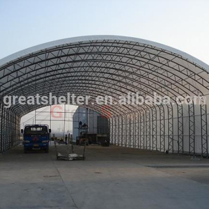 commercial commodity storage building for fertilizer, waste and recycling