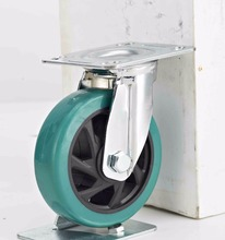 High Quality 6 Inch Steel Stainless Trolley Caster Wheels