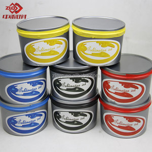 Dye Sublimation Ink for Silk Screen Printing (ZHONGLIQI)