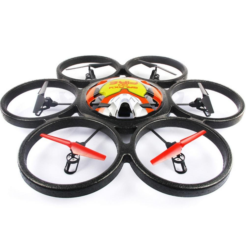 OOFAY Drone with Camera V323 Six-Axis Aircraft Large Four-Channel 2.4G Remote Control Aircraft Drone Aircraft Model Toys