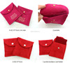 10*10cm Luxury Suede Pouches Velour Velvet Bags Gift Bags Jewelry Pouches