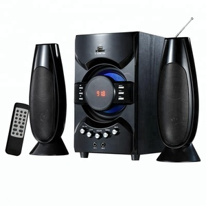 Museeq Reliable And Cheap 2.1Ch Multimedia Speaker Tower Satellite With Fm Radio/Usb/Sd/Fm Function For Home
