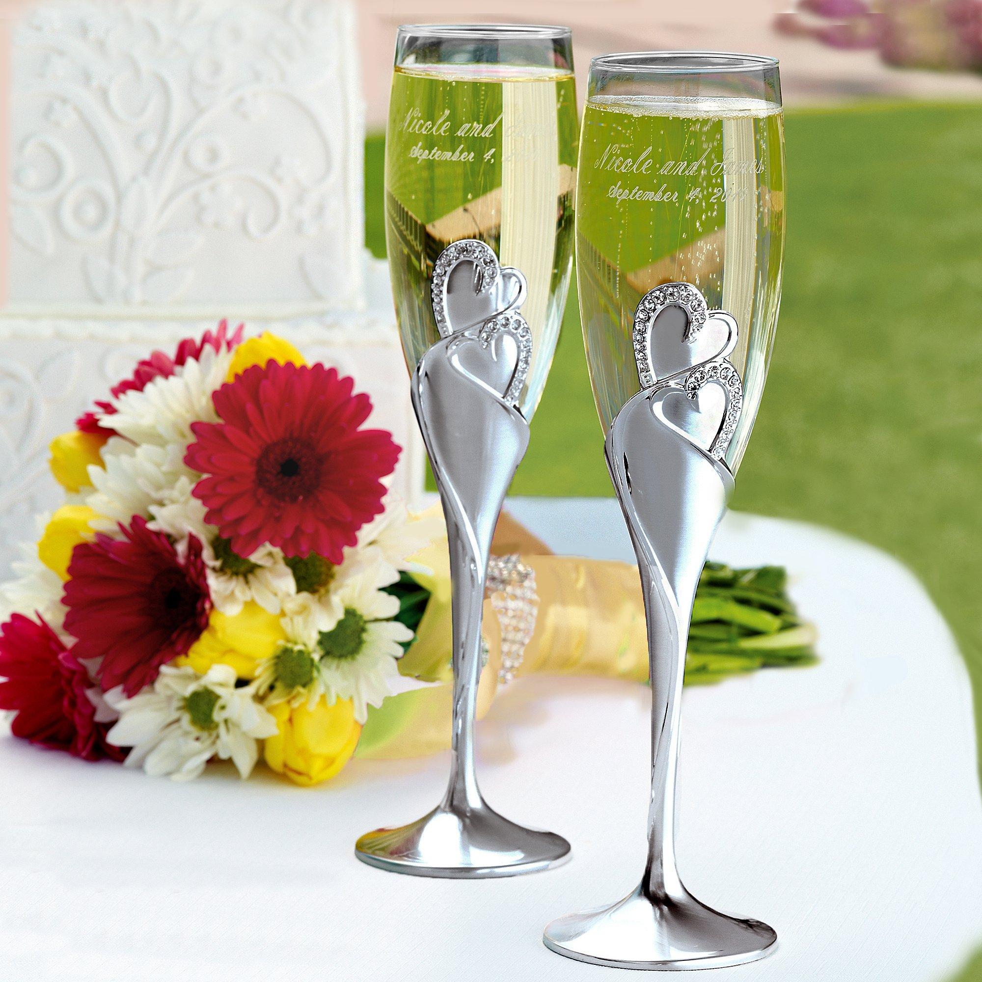 свадьба фото с бокалами том, что обычно